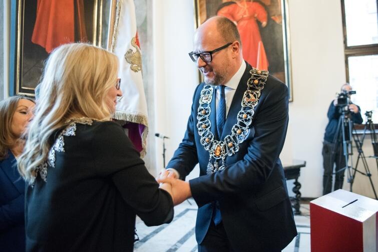 W poniedziałek ślubowanie, poza radnymi, złożył także Prezydent Miasta Gdańska, Paweł Adamowicz
