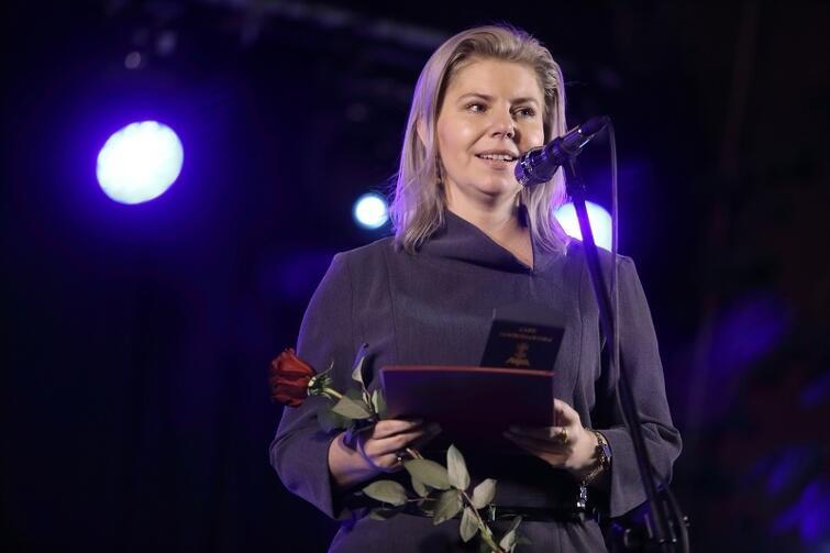 Anna Mączyńska – Kasprzyk otrzymała w 2017 Nagrodę Równości w kategorii wizjonerka