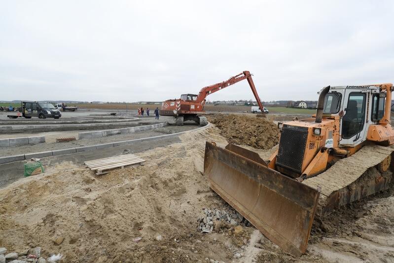 Do końca roku powinna zakończyć się budowa parkingu na blisko 400 samochodów przy przystanku PKM Rębiechowo