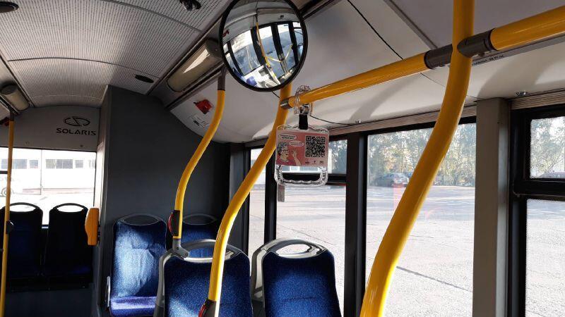 We wszystkich autobusach przewoźnika BP Tour uchwyty są już zamontowane. To autobusy, które kursują na trasach wykraczających poza granice Gdańska, np. na Kowale, do Borkowa, Straszyna czy Pruszcza