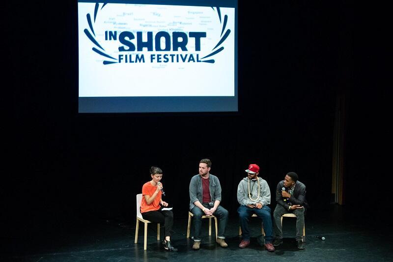 InShort Film Festival 2018. Gati Matuszewska prowadzi spotkanie z filmowymi twórcami