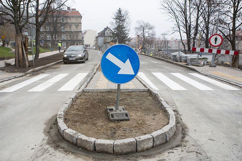 Ulica Zaroślak jest już udostępniona dla kierowców