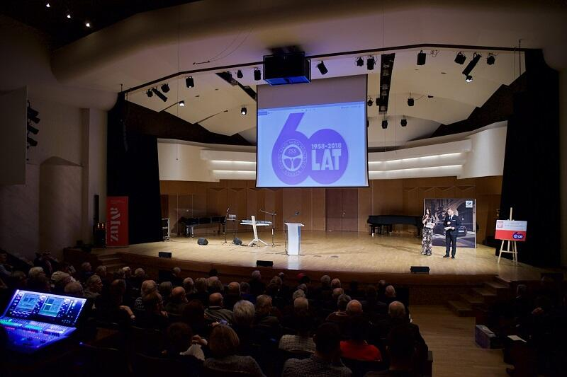 Zespół Szkół Samochodowych w Gdańsku, czyli gdańska Samochodówka świętowała 60-lecie w auli Akademii Muzycznej