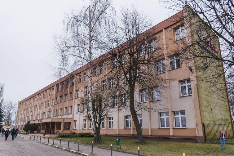 Zespół Szkół Samochodowych w Gdańsku mieści się przy ul. Elbląskiej