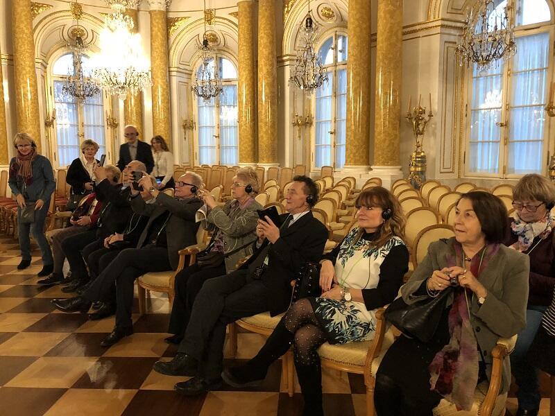 Seniorzy mieli okazję zwiedzić Senat RP