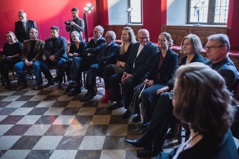 Spotkanie z okazji XX lecia gdańskich carillonów odbyło się w Ratuszu Głównego Miasta