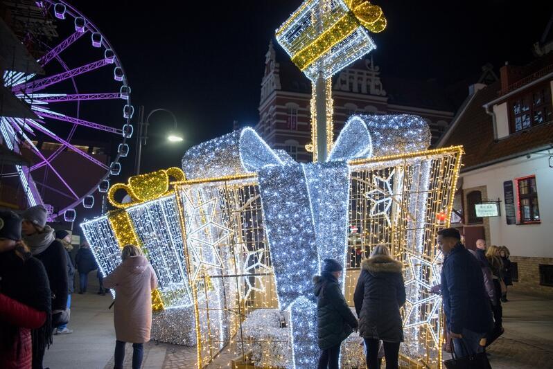 Spacer po Gdańsku wśród świątecznych iluminacji