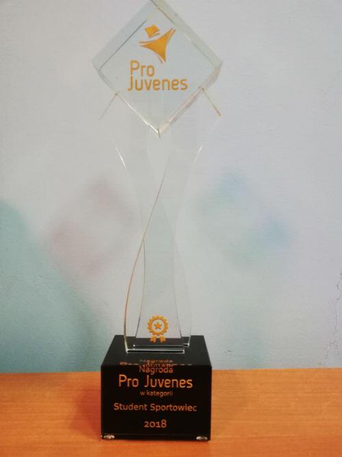 Statuetka nagrody Pro Juvenes