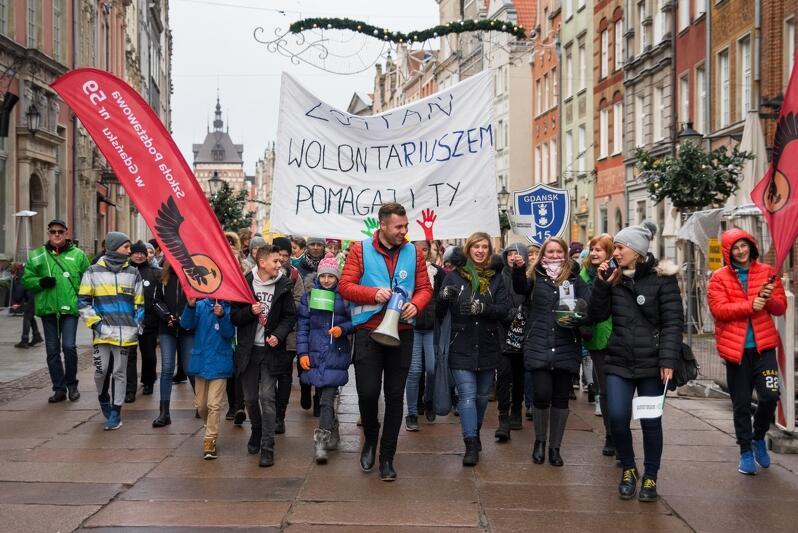 Jesteśmy ! Parada gdańskich wolontariuszy w 2017 r.