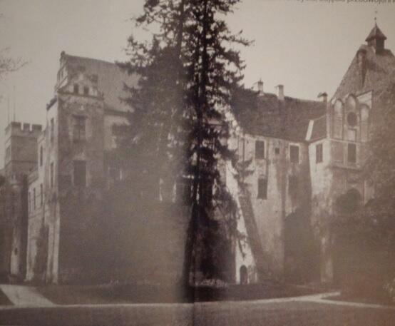 Katedra w Kwidzynie, gdzie Dorota spędziła ostatni rok życia w całkowitym odosobnieniu, zdjęcie przedwojenne