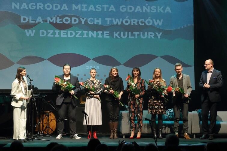 Laureaci tegorocznego konkursu dla Młodych Twórców Kultury