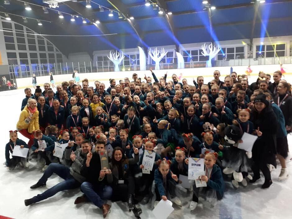 Zawodnicy klubu SKF Iceskater Gdańsk
