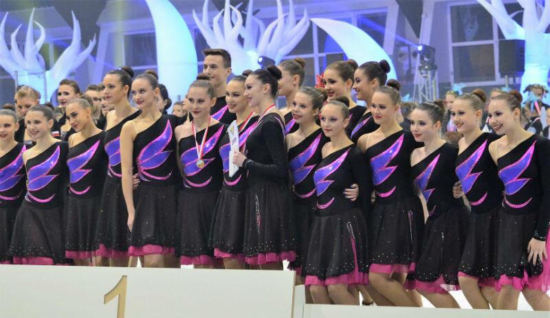 Drużyna Ice Fire Junior na podium mistrzostw Polski