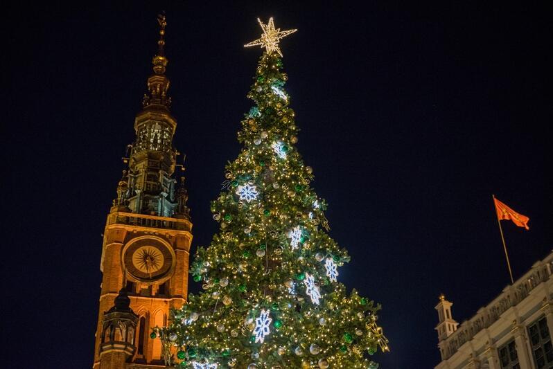 Wspólne odpalenie choinki to bardzo miły akcent wprowadzający gdańszczan w świąteczną atmosferę