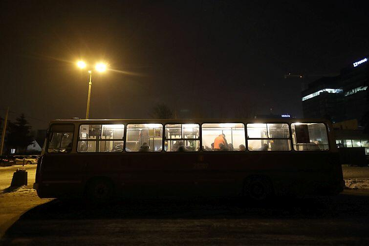 Autobus SOS będzie kursował każdej nocy do końca marca