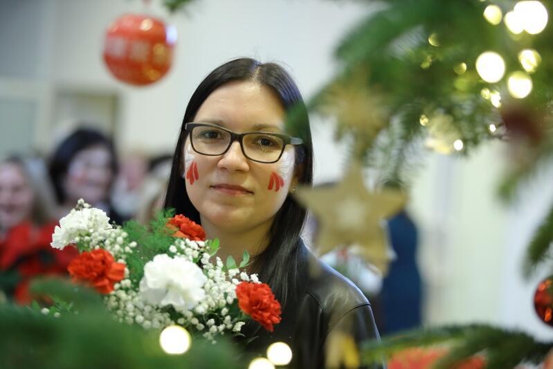 """Aleksandra Michalak pracuje w żłobku nr 2 """"Kasztanek"""" przy ul. Piastowskiej"""