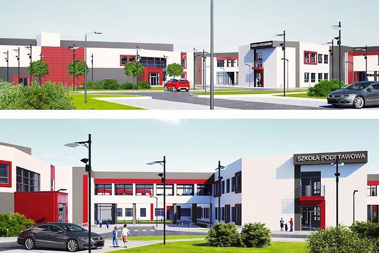 Tak będzie wyglądać nowa szkoła podstawowa - w ramach Centrum Edukacyjnego Jabłoniowa
