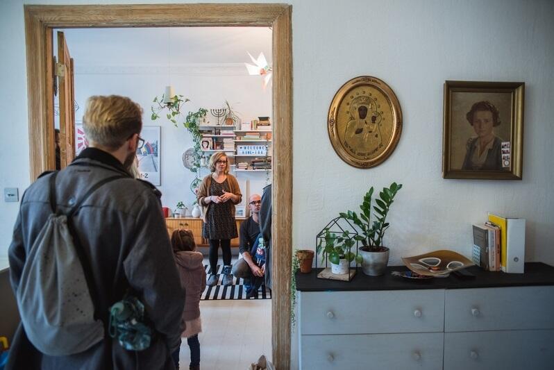 Open House Festival, który odbył się w październiku we Wrzeszczu był jednym z dofinansowanych w 2018 roku projektów grantowych. Dzięki niemu mogliśmy zajrzeć do obiektów niedostępnych na co dzień, nawet do... prywatnych mieszkań. Nz. mieszkanie Magdy i Piotra
