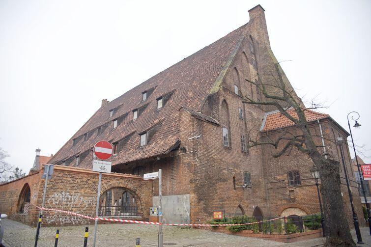 Wielki Młyn to jeden z najbardziej charakterystycznych zabytków Gdańska