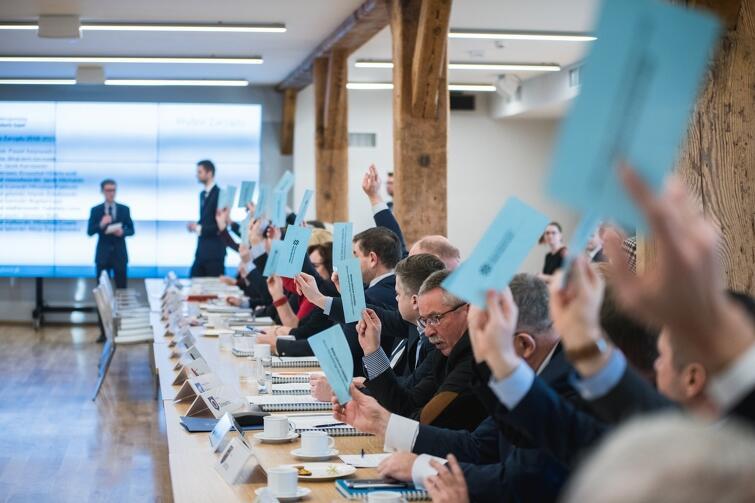 Walne zebranie członków stowarzyszenia odbyło się 10 grudnia w starej Wozowni na terenie Hevelianum