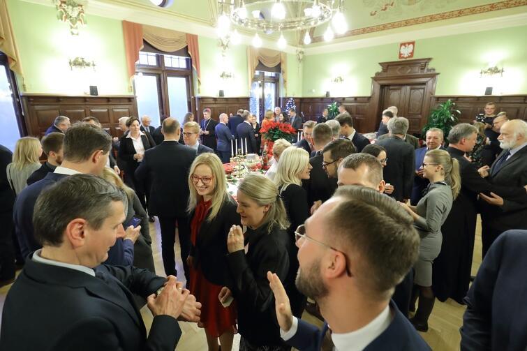 Opłatkowe spotkanie radnych to już tradycja