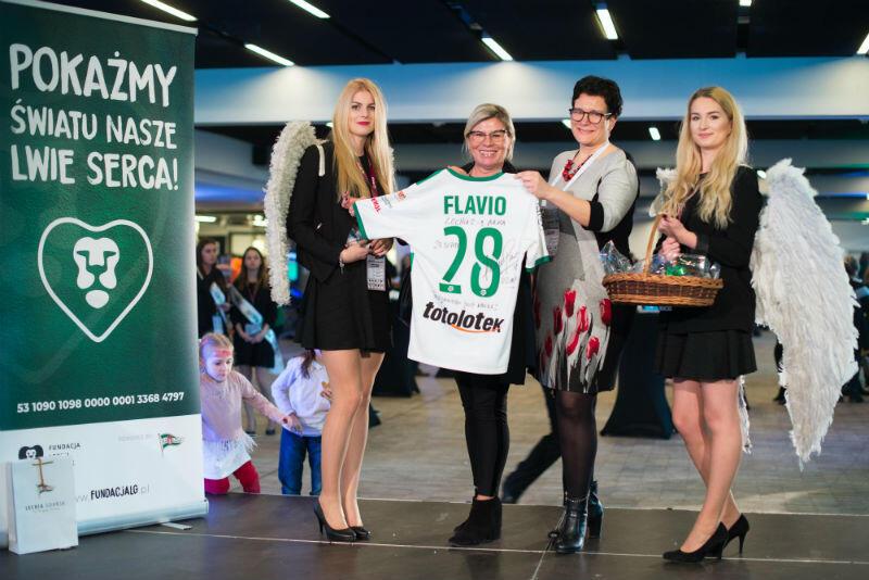 Koszulka Flavio Paixao została zlitytowana za 20 tys. zł