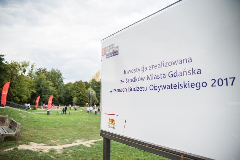 Park nad Potokiem w dzielnicy Przymorze Małe powstał w ramach Budżetu Obywatelskiego