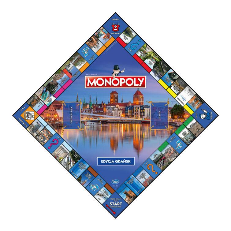 Nowa plansza gdańskie edycji gry Monopoly