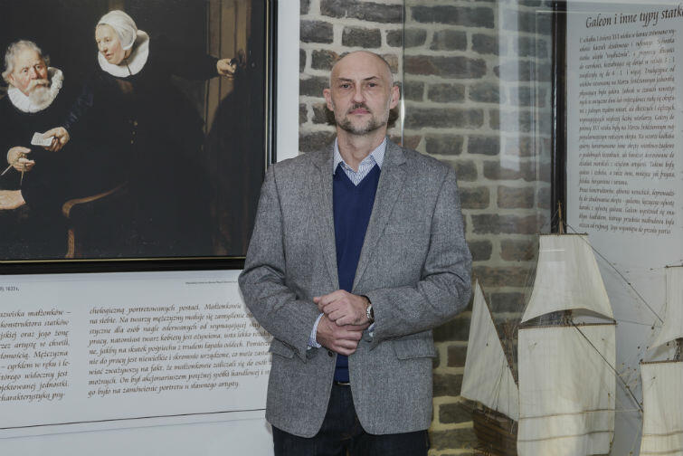 Robert Domżał - nowy dyrektor Narodowego Muzeum Morskiego w Gdańsku