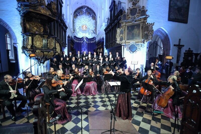 Cappella Gedanensis uroczystość 25-lecia działalności zespołu świętowała koncertem w Bazylice Archikatedralnej w Oliwie