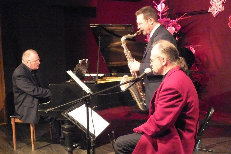 Wigilia Jazzowa w gdańskim klubie Winda to wydarzenie z tradycjami - odbywa się nieprzerwanie od 1998 roku. Nz. Koncert z 2014 roku