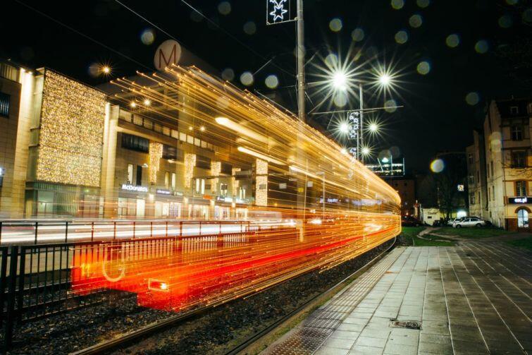 Świąteczny tramwaj znów jeździ
