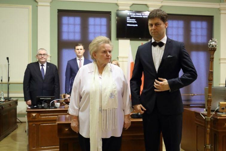 Teresa Wasilewska i Wojciech Błaszkowski (oboje z WdG) złożyli już ślubowanie