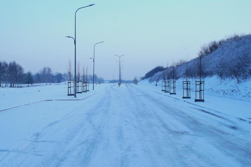 Nowa ulica Nowy Świat w Gdańsku Osowej