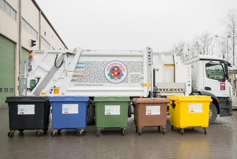W gdańsku od 1 kwietnia obowiązuje segregacja odpadów na pięć frakcji.