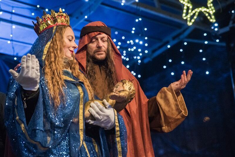 Nikt tak pięknie nie śpiewał `Lulajże Jezuniu` jak Maria - w jej rolę wcieliła się Laura Haras, śpiewaczka operowa