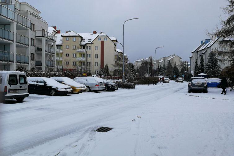 Śnieg najdłużej utrzymuje się w na górnym tarasie Gdańska