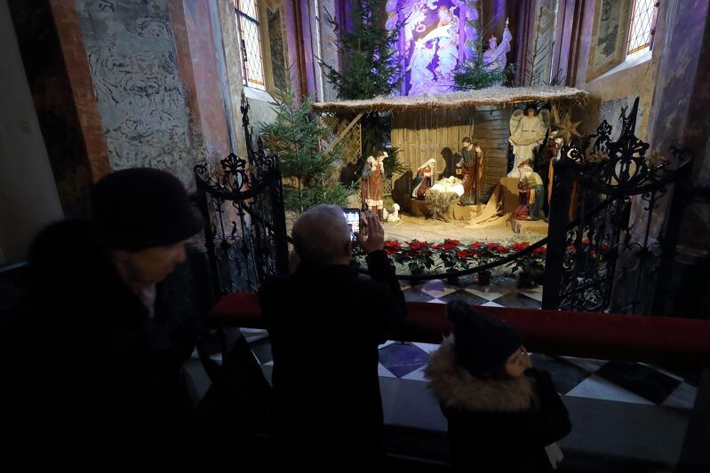 Szopka w Katedrze Oliwskiej przy ul. biskupa Edmunda Nowickiego 5. Więcej o samej świątyni