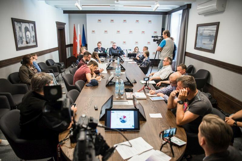 Konferencja w Urzędzie Miejskim w Gdańsku nt Modelu na rzecz Równego Traktowania. Czerwiec 2018 rok.
