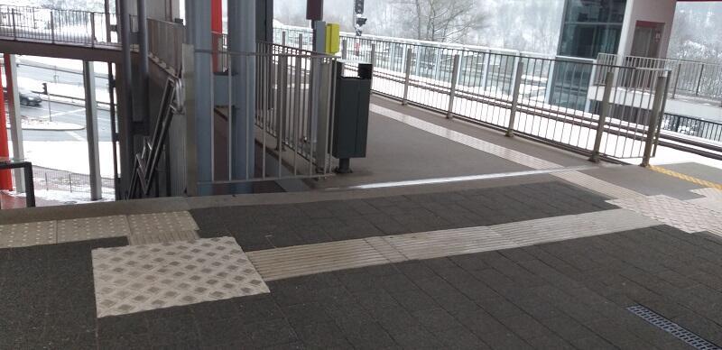 Droga pierwszeństwa, czyli inaczej pole wsiadania funkcjonuje już na połączonych przystankach PKM i tramwajowym Brętowo