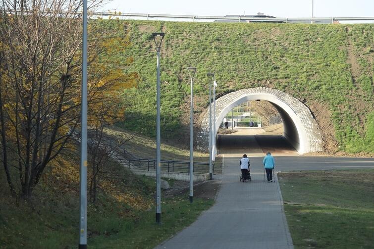 Budowa tunelu pod ul. Wilanowską była najbardziej spektakularną częścią prac przy zagospodarowaniu Jaru Wilanowskiego