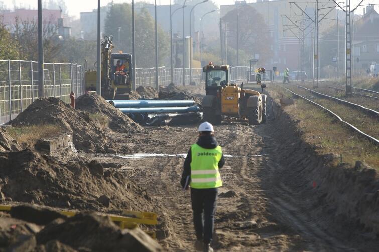 Modernizacja torów na Stogach powinna zakończyć się w połowie przyszłego roku