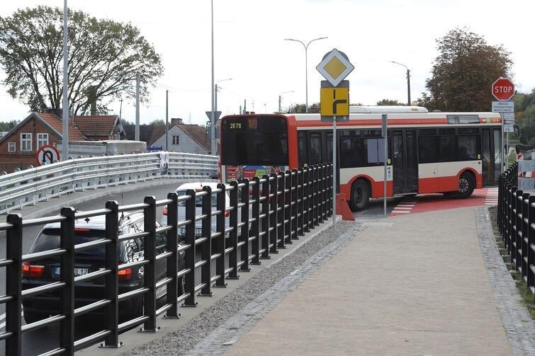 Most w ul. Starogardzkiej otwarto na początku października