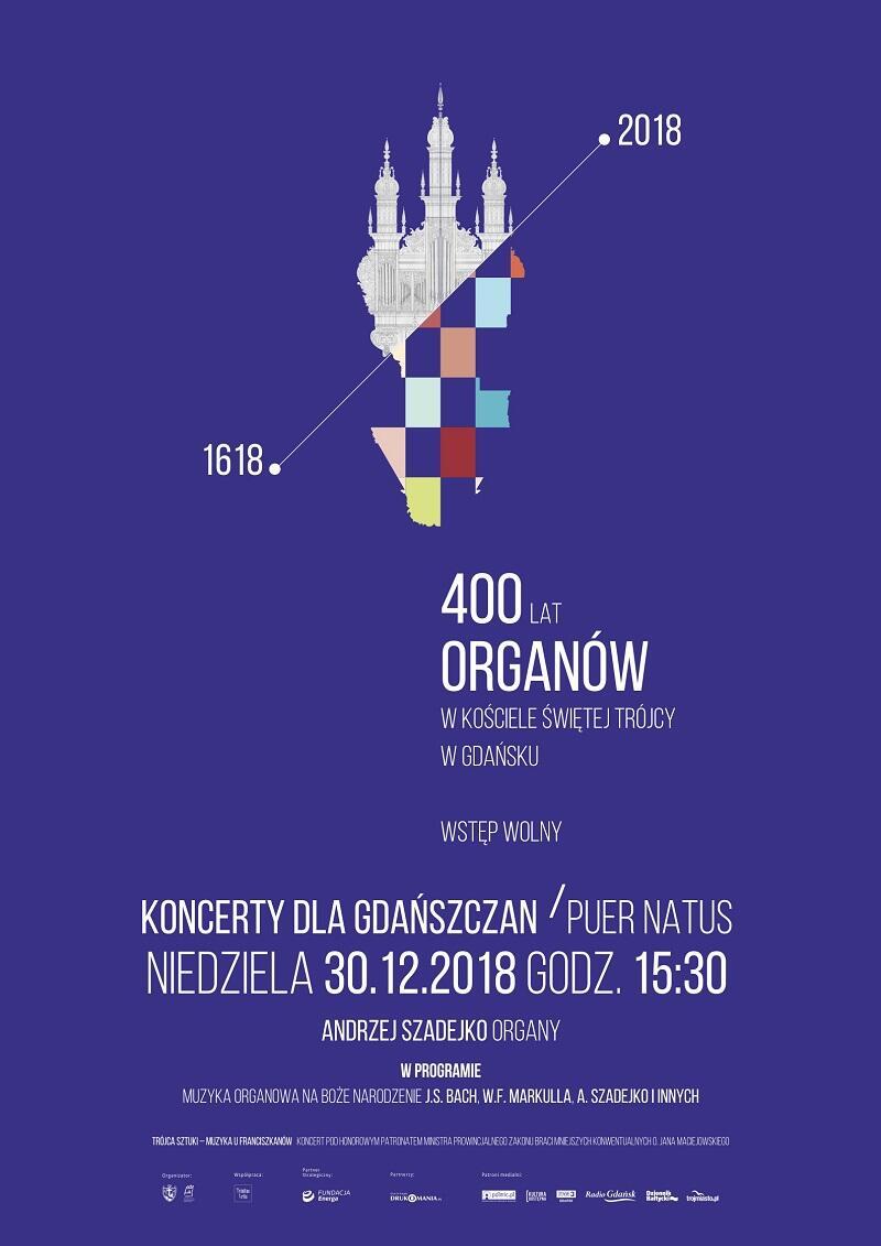 30_12_2018 400lecie Organy KdG plakat A2 cu