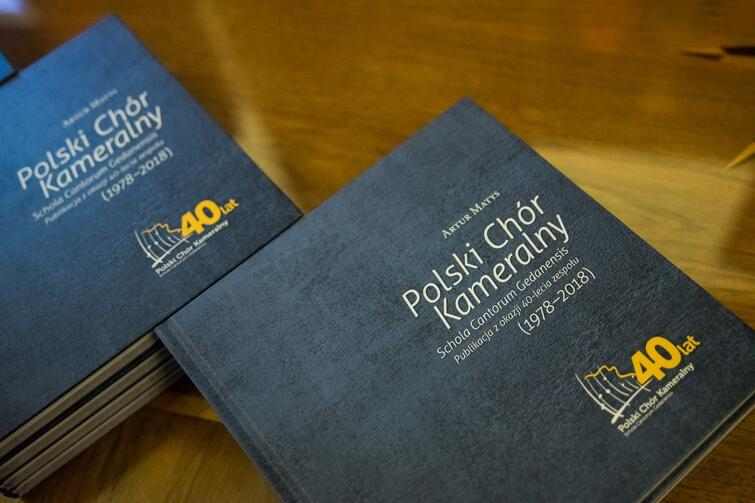 Promocja książki o Polskim Chórze Kameralnym odbyła się tuż przed końcem roku, w piątek, 28 grudnia