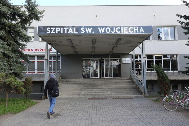 Szpitala na Zaspie to jedno z miejsc, gdzie jest świadczona nocna i świąteczna opieka medyczna