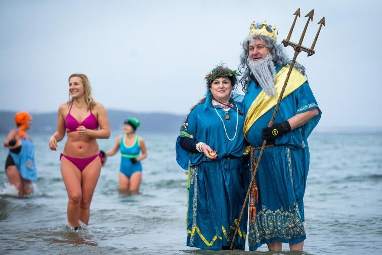 Neptun oczywiście nie przyszedł sam, ale z Salacją, która jest starorzymską personifikacją słonej wody
