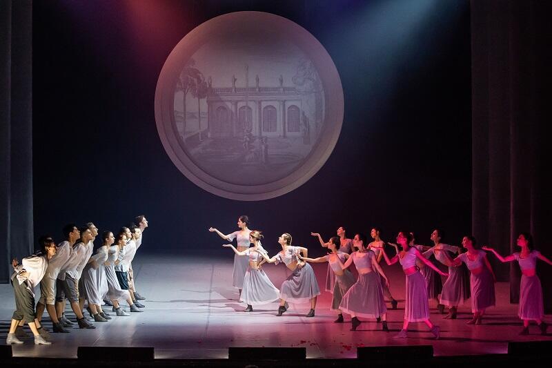 'Kandyd' w Operze Bałtyckiej. Na zdj.: balet OB