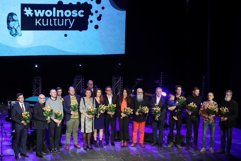 Nominowani w 2018 roku do Nagrody Miasta Gdańska w Dziedzinie Kultury Splendor Gedanensis i przyznanie tytułu Mecenasa Kultury Gdańska