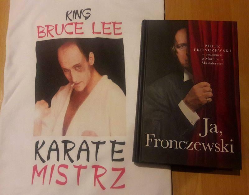 Koszulka i książka z autografem Piotra Fronczewskiego - to jedne w wielu rzeczy, które będzie można wylicytować podczas tegorocznego koncertu